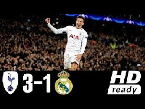 Tottenham Hotspur Vs Real Madrid 3-1 Extended Highlights & Goals - 01 NOV 2017