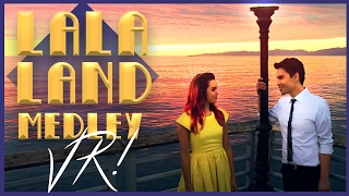 Video La La Land Medley in VR!! Sam Tsui & Megan Nicole | Sam Tsui MP3, 3GP, MP4, WEBM, AVI, FLV September 2019