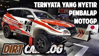 Video REVIEW TOYOTA FORTUNER PALING RACING DI INDONESIA | GIIAS 2018 | DIRT CARVLOG #48 MP3, 3GP, MP4, WEBM, AVI, FLV Agustus 2018