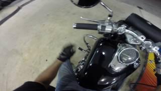 5. Honda shadow spirit 750 vs Harley Sportster 883