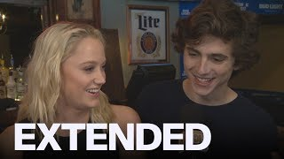 Nonton Timothee Chalamet  Maika Monroe Talk  Hot Summer Nights    Extended Film Subtitle Indonesia Streaming Movie Download