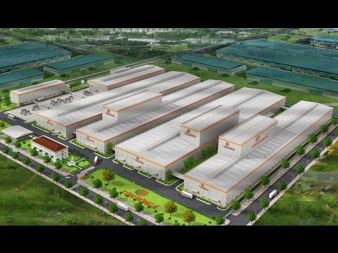 Họp báo công bố dự án nhà máy Tôn Đông Á chi nhánh Thủ Dầu Một