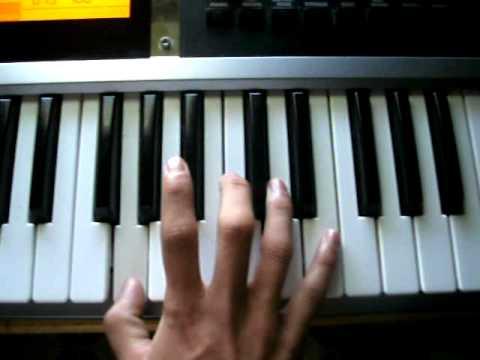 Ritmo De Cumbia piano tutorial