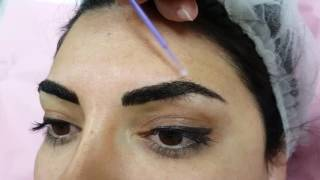 Full and wonderful Microbladed Brows