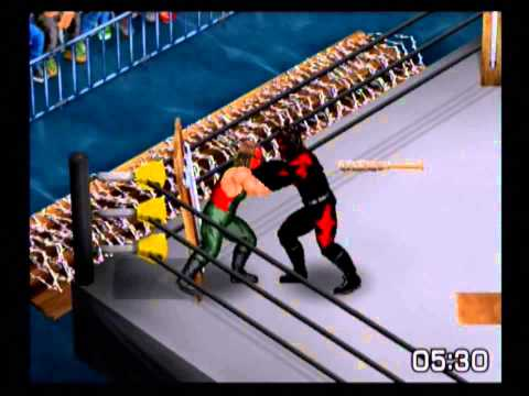 Pro Wrestling - Kane (me) vs Sting in a Landmine Deathmatch from