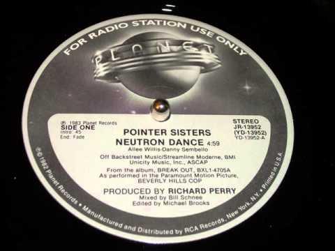 Pointer Sisters Neutron Dance
