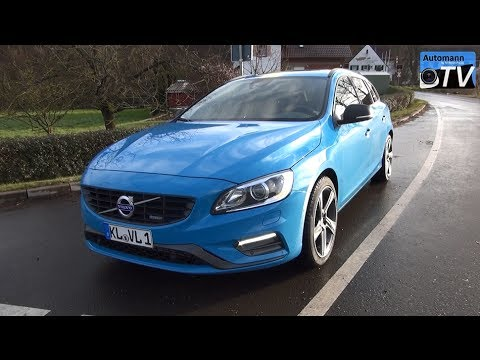 2014 Volvo V60 R-Design D5 (215hp) – DRIVE & SOUND (1080p)