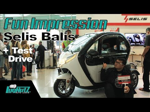 Motor Viral Anti Hujan! - Selis Balis FUN IMPRESSION & TEST RIDE | LUGNUTZ Indonesia