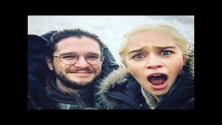 Jon snow pretends to be a dragon in hilarious game of thrones outtake The Ellen Show 2017 Best Mattress under $200:...