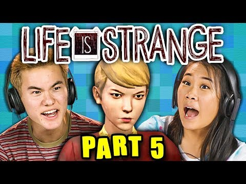 DRAMA IN THE CLUB! | LIFE IS STRANGE - Part 5 (React: Gaming) (видео)