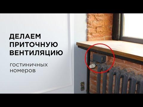 Приточная вентиляция в гостиницах