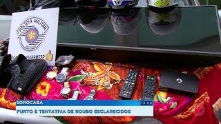 Furto e tentativa de roubo são esclarecidos em Sorocaba