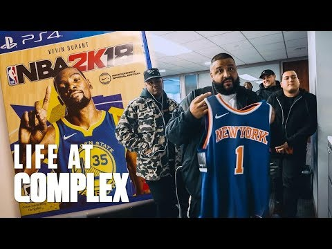 DJ KHALED & NIKE TAKE OVER THE COMPLEX OFFICE! | #LIFEATCOMPLEX (видео)