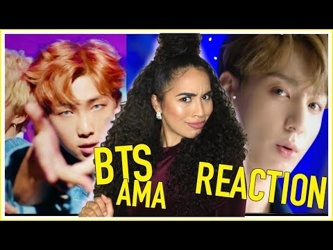 Hairstyles - BTS DNA LIVE PERFORMANCE AT AMA'S (AMERICAN MUSIC AWARDS) 2017 REACTION - BTS (방탄소년단)