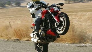 7. 2011 Ducati Streetfighter - Streetfighter Shootout Part 5 - MotoUSA