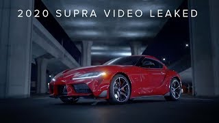 New 2020 Toyota Supra Promo video leaked by Toyota Mexico | First Look by Roadshow