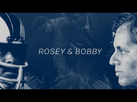 The Story of the NFL Player and Bodyguard for Bobby Kennedy | NFL Network