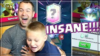 Video INSANE Legendary Chest Opening - Push to Challenger III |Clash Royale| MP3, 3GP, MP4, WEBM, AVI, FLV Juni 2017