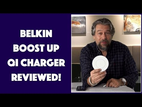 Belkin Boost Up Qi Charger for iPhone X - REVIEWED