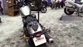 10. 2017 Yamaha Bolt R Spec Silver Shadow Exclusive Features Edition First Impression Walkaround HD