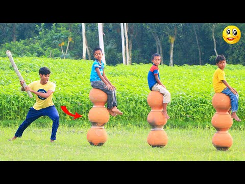New Top Funny Comedy Video 2020__Very Funny Stupid Boys__Episode-125--Indian Fun || ME Tv