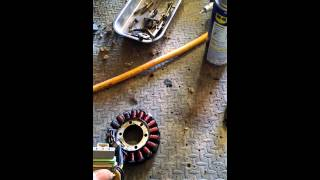10. Polaris 800 stator replacement part 1