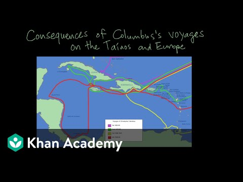 Consequences Of Columbus's Voyage On The Tainos And Europe