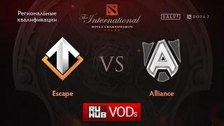 Escape vs Alliance, game 1