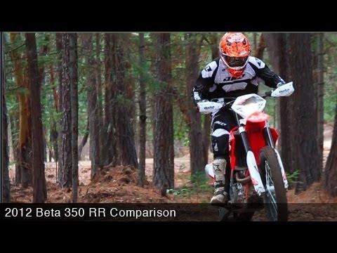 MotoUSA Comparo: 2012 BETA 350 RR