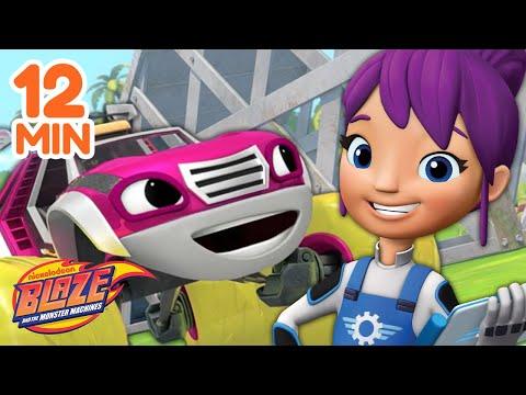 Gabby's Best Mechanic Moments w/ Blaze! | Blaze and the Monster Machines