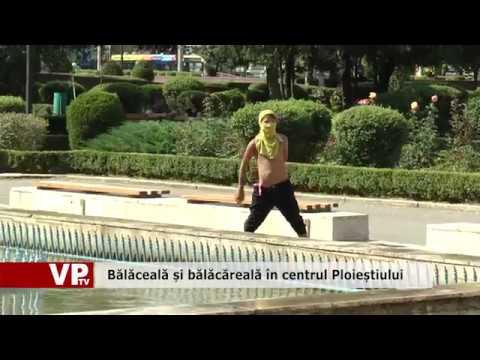 Bălăceală și bălăcăreală în centrul Ploieștiului