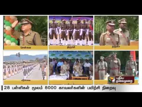 Police-department--8-000-new-recruits-in-28-centres-complete-their-police-training