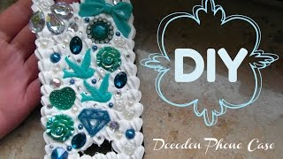 DIY / Decoden Phone Case / Tutorial - YouTube