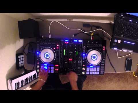 Pioneer DDJ-SX Hip Hop mix plus a touch of twerk