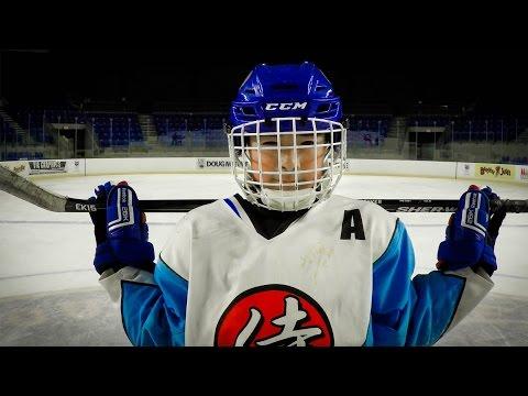 GoPro: Japanese Ice Hockey Prodigy Aito Iguchi (видео)
