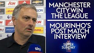 Video Jose's post match interview after Man City win the Premier League! | Man Utd 0-1 West Brom MP3, 3GP, MP4, WEBM, AVI, FLV Juni 2018
