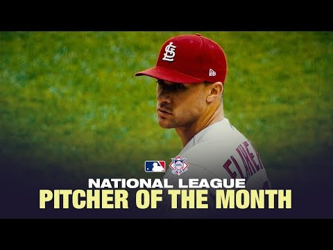 Video: Jack Flaherty is August's NL Pitcher of the Month