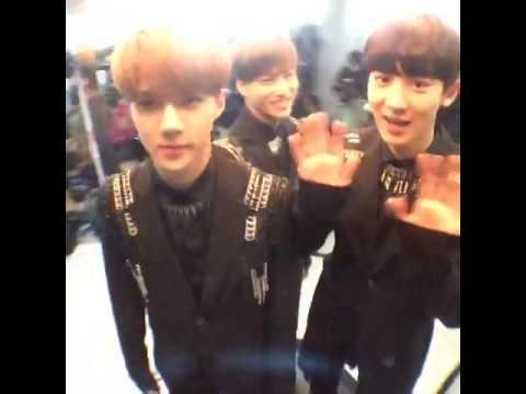 140724 EXO-K MCOUNTDOWN 360 CAM (видео)