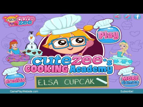 Cooking Academy Elsa Cupcakes Online Game - Baby Games