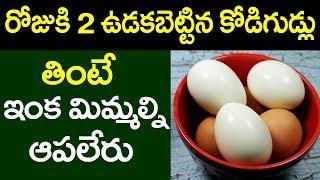 Video Health Benefits Of Having Boiled Eggs | Eat 2 Boiled Eggs Daily | Telugu Health Tips #PlayEven MP3, 3GP, MP4, WEBM, AVI, FLV September 2018