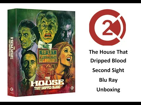 The House That Dripped Blood (Second Sight) Blu Ray Unboxing