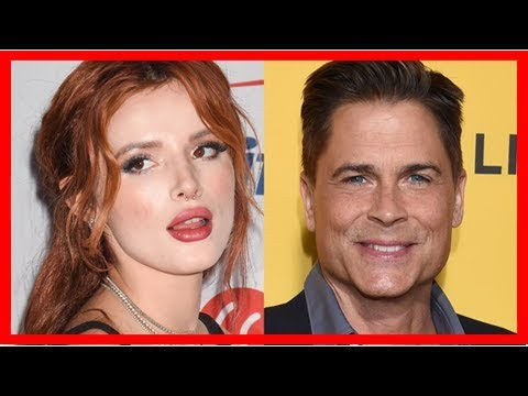 Bella Thorne Is 'So Embarrassed' After Rob Lowe Called Her Out For Clueless Mudslides Tweet
