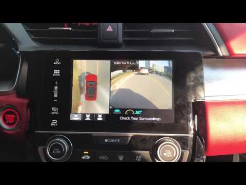 Camera 360 độ Oview cho xe Honda Civic 2017