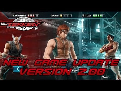 Video of Tekken Card Tournament
