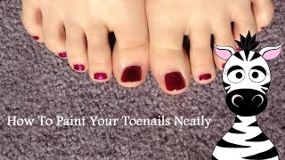 Download Lagu How to Paint Your Toenails Neatly Mp3