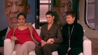 Three Bill Cosby Accusers Open Up About Allegations on the ET Set