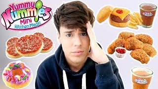 Video i only ate YUMMY NUMMIES mini foods for 24 hours !!! MP3, 3GP, MP4, WEBM, AVI, FLV Januari 2018