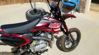 7. Was this the right dirt bike to ride with my son? Ssr 140tr