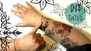 Hi my FANTASTIC friends welcome in this DIY tutorial how to make fake tattoos using pantyhose and copic markers.This is a super simple crafting idea, easy, cheap and safe cause no needles are involved.These are perfect for Halloween parties, or any occasion when you have to wear a disguise.MATERIALS:-A pair of transparent pantyhose -sharpies or copic or any other kind of alcohol based markers- alcohol based black pen with a fine point-prints with your favourite designs