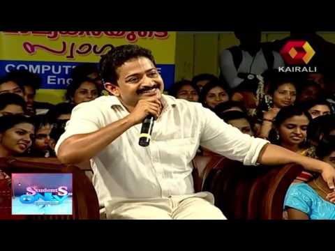 Video Students Only |  Renji Panicker on his popular dialogue from the movie The King download in MP3, 3GP, MP4, WEBM, AVI, FLV January 2017